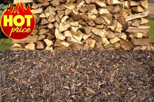 Firewood Mulch for sale